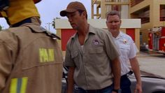 "Burn Notice 3x12 ""Noble Causes"" - Michael Westen (Jeffrey Donovan) & Fire Chief (Adam Vernier)"