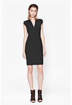 Mimi Pinstriped Dress