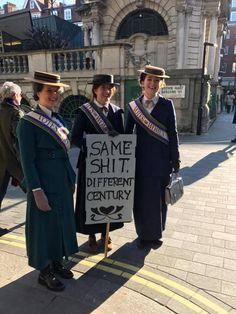 Funniest Signs from Women's Marches Around the World: Same Sh*t, Different Century