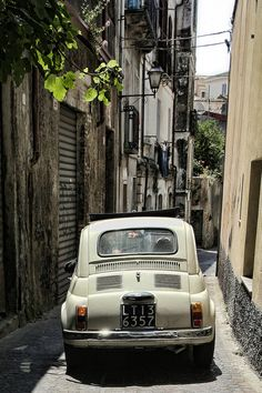 Photograph Fiat 500 in Italy by Marius Vasie on 500px