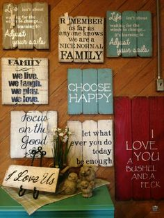 Wood Crafts Diy Signs Projects - Unique Wood Crafts Diy Signs Projects, Find Your Favorite Sayings at Country Furniture & Gifts at Gardner Wood Projects, Projects To Try, Pallet Projects Signs, Design Projects, Wood Pallet Crafts, Simple Projects, Painting On Pallet Wood, Pallet Home Decor, Furniture Projects