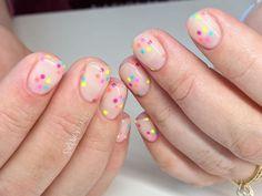 "sierra unsicker ♥ on Instagram: ""Neutral with a little pop of bright. 😍 • • • • 100% hand painted. #sierrasnails #nailsbysierra #handpainted #handpaintednailart #nailart…"" How To Look Pretty, Neutral, Nail Art, Hand Painted, Bright, Pop, Nails, Instagram, Finger Nails"