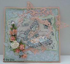 Schmetterlinge - Stempel MarianneDesign