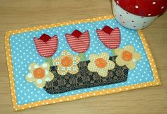 Get On Trend With Quilted Mug Rugs