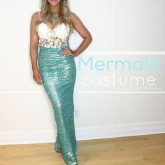 A.Co est. 1984: Inexpensive DIY Mermaid Costume