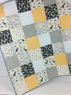Baby Boy Quilt Patterns, Baby Patchwork Quilt, Cot Quilt, Baby Boy Quilts, Lap Quilts, Quilt Blocks, Missouri Quilt, Handmade Baby Quilts, Small Quilts