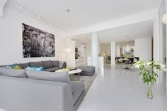 Contemporary Three Bedroom Apartment in Stockholm | HomeDSGN, a daily source for inspiration and fresh ideas on interior design and home decoration.