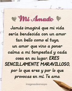 Carta de amor #Cartasdeamor #Enamorarhombre