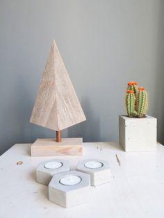 kerstboom steigerhout koper steigerplank kerst x-mas