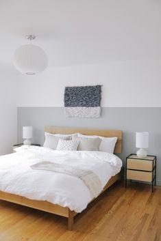 cute neutral bedroom