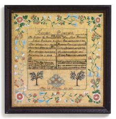 folk art textile ||| sotheby's n08950lot4dfzyen