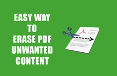 Edit PDF file free of charges, How to Erase Unwanted Content from PDF File, an easy way to modify your PDF file with online tools, Best PDF Editor online Pdf, Content