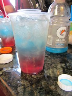 Red white blue punch