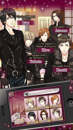 Otome game Love Letter from Thief X.