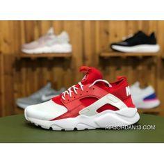 fd3517549ba20 Nike Air Huarache Run Ultra 847568 116 White Red-White Running Shoes Super  Deals