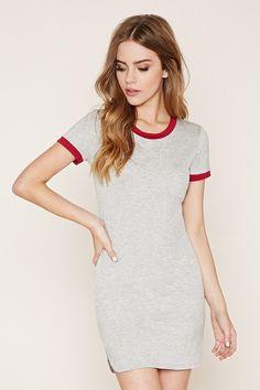 Heather Knit Ringer Dress | Forever 21 - 2000236633