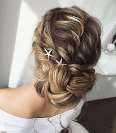 The Pretty Braided Updo Wedding Hairstyle To Inspire You