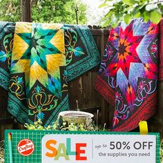 Craftsy is making back-to-school more fun than ever with up to 50% off quilting supplies, kits and classes. Don't be tardy to this event! Offer valid through Tuesday, September 7, 2015.