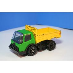 Flatbed Dump Truck Tonka (90's?) Tailgate lowers