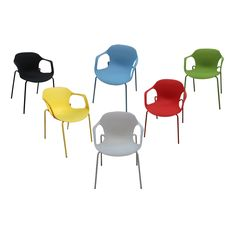 You will be proud to show off the Lily Plastic Casual/ Dining Chairs in your home decor. Family and friends will be impressed with these stylish chairs.