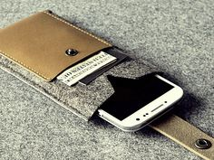 Charbonize | Leather iPhone Wallet Case | AHAlife