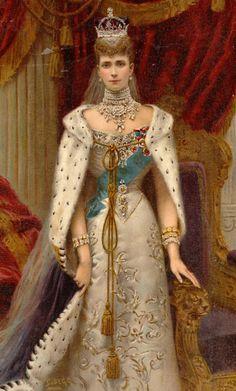 DINASTÍAS | Los Foros de la Realeza • Ver Tema - Mantos de Coronación y Armiños