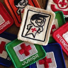 toys Lot of 9 Vintage Canadian Red Cross Swimming Badges My Childhood Memories, Sweet Memories, Canadian Red Cross, Vintage Toys 1970s, 70s Toys, Thanks For The Memories, 80s Kids, I Remember When, Ol Days