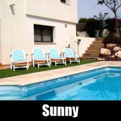 Vakantiehuis Calafell Costa Dorada Villa Spanje huren Sunny