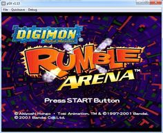Digimon rumble arena iso game psx