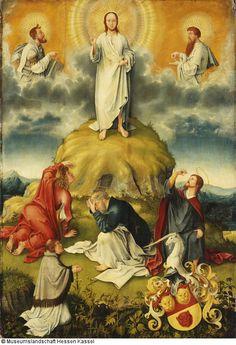 Die Verklärung Christi. Epitaph des Johannes Göckerlein Künstler: Jacob Apt (1485 - 1518), zugeschrieben