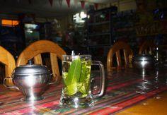 Trochę wysoko - czas na coca tea :)