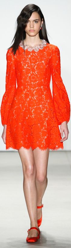 Jenny Packham, fall 2016 Ready-to-Wear