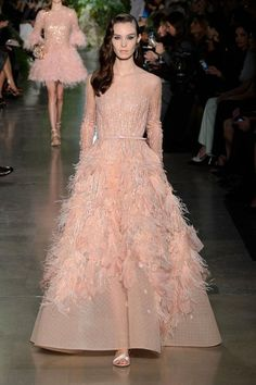 Elie Saab Alta Costura Primavera-Verano 2015   Trendencias