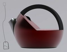 Creativi*tea Kettle: Creative kettle design by Sarina Fiero; its inspired by the warm and comforting feeling that tea-drinking brings to those who partake.