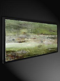 """Bildende Kunst Originalgemälde von Sebastian Hartmann: """"Velato"""" - Abstrakte Kunst Galerie Inspire ART"""
