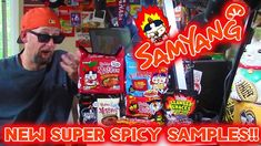 Samyang Buldak Samples - Challenge, 3x and MORE - The Ramen Rater South Korea, Ramen, Challenges