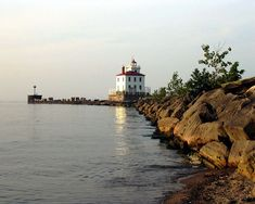 With 60 historical lighthouses surrounding Lake Erie, 22 stretch along the shores from Port Clinton to Toledo Harbor. For over a century, their beacon of light served the Great Lakes shipping region.