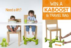 Want to win your own KABOOST? Enter to win a KABOOST and travel bag here!
