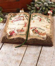 The Night Before Christmas Book Display | Bethany Lowe - TheHolidayBarn.com