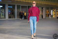 STYLE DU MONDE / Paris SS 2017 Street Style: Roberta Benteler  // #Fashion, #FashionBlog, #FashionBlogger, #Ootd, #OutfitOfTheDay, #StreetStyle, #Style