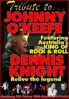 dennis knight jok. Tickets on sale now. $10  www.gzrsl.com Rock And Roll, Knight, Movie Posters, Rock Roll, Film Poster, Rock N Roll, Cavalier, Billboard, Knights
