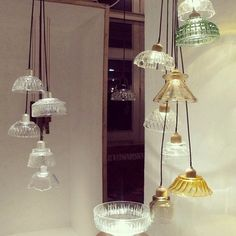 Jelly Dish Pendant Lights from Jay Watson London Design Festival | Apartment Therapy
