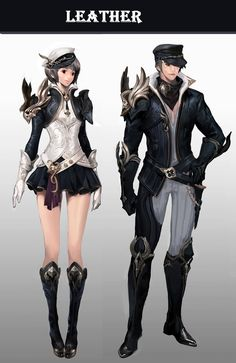 Not bad per se, but she could be wearing trousers as well? Fantasy Character Design, Character Creation, Character Design Inspiration, Game Character, Character Concept, Concept Art, Fantasy Armor, Anime Fantasy, Hyung Tae Kim