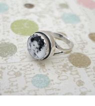 Vintage Baby Photo Ring
