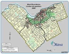 Map of New Ward Structure 2006
