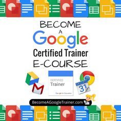 The NEW Become a Google Certified Trainer E-Course is Here! http://www.shakeuplearning.com/blog/become-google-certified-trainer-e-course/ #gafe #googleedu #edtech #tosachat #edchat