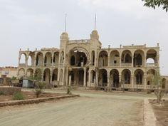 Bombed out bank in Massawa Eritrea  #abandoned #bombed #bank #massawa #eritrea #photography