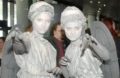 Halloween costume: weeping angel (dr who)
