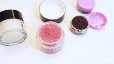 lip scrub   Lippen-Peeling DIY