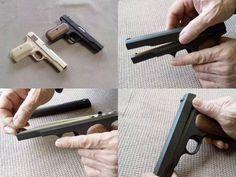 驚異のリアル「木製ゴム銃」の重厚感に感動する   DDN JAPAN